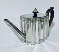 18th Century Georgian Solid Sterling Silver Teapot (3 of 16)