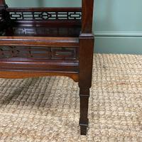 Stunning Victorian Inlaid Antique Mahogany Occasional Table (6 of 7)