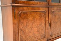 Antique Burr Walnut  Bookcase (5 of 9)
