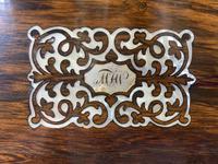 William IV Rosewood Lap Desk (3 of 18)