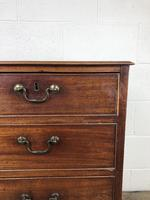 Georgian Mahogany Straight Front Chest of Drawers (4 of 12)