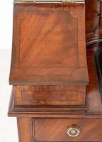 Regency Style Mahogany Carlton House Desk c.1900 (6 of 11)