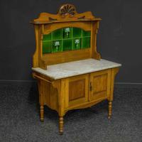 Victorian Oak Washstand (8 of 11)