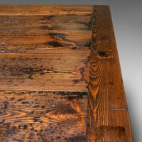 Very Large 13' Antique Dining Table, English, Pine, Country House, Victorian (10 of 12)