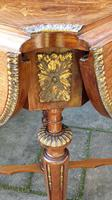 Exceptional 19th Century Marquetry Drop-leaf Centre Table (4 of 9)