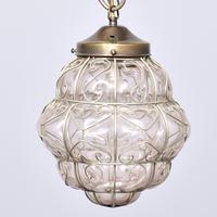 Set of 4 Murano-type Basket Light Fittings (6 of 10)