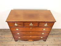 Wide Antique Mahogany Chest of Drawers (2 of 12)