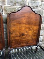 Pair of Antique Mahogany Single Beds (4 of 10)