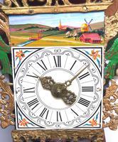 Wow! Antique 18th Century Dutch Stoelklok Wall Clock Verge Wall Clock (3 of 12)