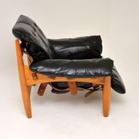"Vintage ""Sheriff"" Leather Armchair by Sergio Rodrigues for ISA (5 of 12)"