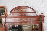Incredible Mahogany & Brass Napoleon II Double Bed (10 of 10)