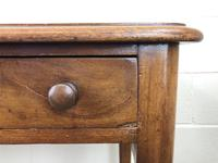 Victorian Mahogany Two Drawer Side Table (6 of 9)