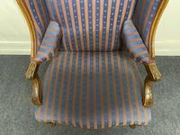 Comfortable French Wing Armchair (13 of 15)