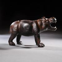 Mid 20th Century Liberty Of London Leather Hippo (12 of 12)