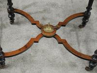 Louis XV Style French Marquetry Games / Side Table (10 of 15)