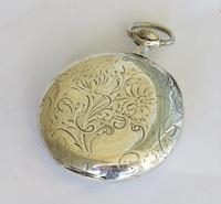 1920s Omega Silver Pocket Watch (5 of 5)