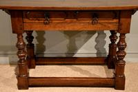 Early 18th Century Spanish Walnut Serving Side Table (2 of 7)