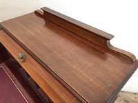 Antique Edwardian Mahogany Inlaid Cylinder Top Desk (7 of 14)