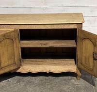 French Bleached Oak Sideboard or Dresser Base (12 of 23)