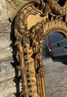 Large Victorian Gilt Overmantel Mirror (11 of 20)