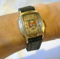Wrist Watch 1938 Waltham 17j Chevy All American Soap Box Derby Winner (4 of 12)