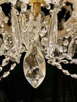 10 Light Italian Marie Theresa Antique Chandelier (8 of 14)