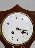 French Art Nouveau Mahogany Mantel Clock by Samuel Marti (2 of 7)