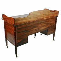 Rare George IV Zebra Wood Dressing Table (7 of 8)