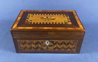 Victorian Rosewood Box With Inlay (15 of 17)
