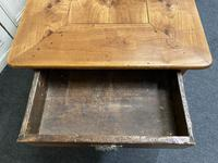 French Fruitwood Farmhouse Dining Table (5 of 15)