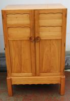 1940s Well Fitted Cherry Wood Cabinet with Slides (3 of 3)