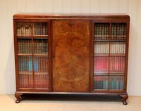 Burr Walnut Bookcase by Heals (3 of 11)