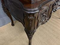 Maple and Co. Large Mahogany Cylinder Desk (17 of 25)