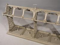 Huge Late 19th Century Country House Cast Iron Stick Stand (4 of 5)
