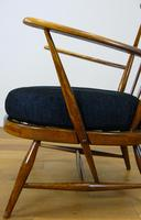 Mid Century Ercol Goldsmith 359 Easy Armchair with New Cushion (12 of 14)