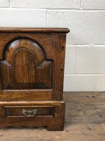 18th Century Style Welsh Oak Coffer (7 of 13)