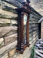 Antique Double Weight Vienna Wall Clock (5 of 9)