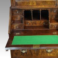 19th Century Walnut Bureau Bookcase (12 of 19)