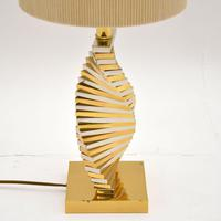 Vintage Brass & Chrome Table Lamp (3 of 5)