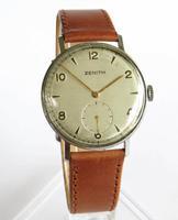 Gents WW2 Era Zenith Wrist Watch (2 of 5)