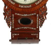 Rosewood Double Fusee Wall Clock (4 of 6)