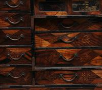 19th Century Japanese parquetry and lacquered cabinet (6 of 11)