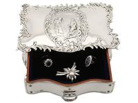 Sterling Silver Jewellery Box - Antique Edwardian (1902) (10 of 15)