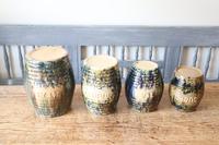 Scottish Pottery Slipware Barrel Storage Jars x4 (17 of 35)