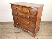 Antique 19th Century Mahogany Chest of Drawers (4 of 9)