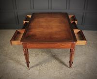 Large Victorian Mahogany Partners Writing Table (7 of 10)