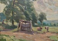 William Francis Burchell Exhibited Impressionist Oil Painting (5 of 12)