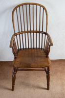 Early 19th Century Hoop-back Windsor Chair in Ash (3 of 4)