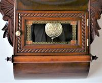 1890 Anglo American Striking Drop Dial Wall Clock (2 of 7)