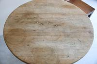 Rustic Oak Occasional Tripod Table (3 of 12)